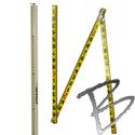 Image Leveling Rods