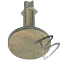 Image Sokkia Flat Survey Markers, Brass