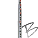 Image Crain LR-PRO Series Leveling Rod, Round, 10ths Only