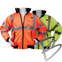 Image 3A Safety 3 Season Waterproof Thermal Jacket, Class 3
