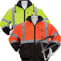 Image 3A Safety 3 Season Reversible Waterproof Thermal Jacket, Class 3