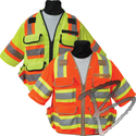 Image SECO Class 3 Surveyors Utility Vest w/ Mesh Back & Sleeves