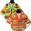 Image SECO Class 3 Surveyors Utility Vest w/ Mesh Back & Sleeves