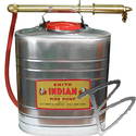 Image Indian Fire Pump 90S Unbuffed Stainless Steel, 5 Gallon
