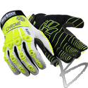 Image HexArmor Chrome Series Oasis 4030, Warm Weather Glove, Cut A8 Palm + Impact