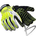 Image HexArmor Chrome Series Oasis 4030, Warm Weather Glove, Cut A8 Palm + Impact