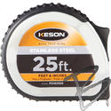Image Keson Stainless Steel 25ft Pocket Tapes