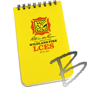 Image Rite in the Rain LCES Wildland Fire, Polydura Notebook 3in x 5in