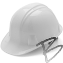 Image Pyramex Hard Hat, Cap Style, 6 Pt Ratchet