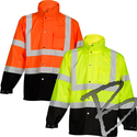 Image ML Kishigo Storm Cover High-Viz Rainwear Jacket, Class 3