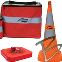 Image Aervoe 28-inch Safety Cone - Collapsible Kit, 5-Pack