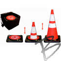 Image Dicke Safety Products Collapsible Cone Kit - Five 28