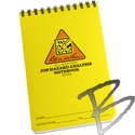 Image Rite in the Rain Job Hazard Analysis Polydura Notebook, 4in x 6in