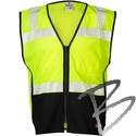 Image ML Kishigo Black Series Flame Resistant Class II Mesh Vest