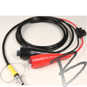 Image External Power Cable for Trimble R10 Reciever, Alligator Clips to 7 pin #0 Lemo