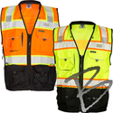Image Kishigo Black Series Surveyors Vest
