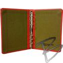 Image Bogside Publishing Standard Cloth 6 Ring Binder, 1/2