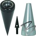 Image SECO Prism Pole Points w/ Replaceable Plumb Bob Tip
