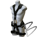 Image FCP Navigator Full Body Harness; Rear Dorsal, Front Sternum, Waist, Side D-rings