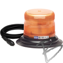 Image ECCO Strobe Beacon, SAE Class II, Amber Dome, Vacuum-Magnet Mount, Amber Light