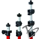 Image SECO Fiberglass Ultralite Prism Poles with TLV Locking