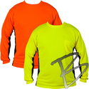 Image Kishigo Premium Black Series Long Sleeve High Vis T-Shirt