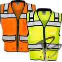 Image Kishigo High Performance Surveyors Zipper Vest, Class 2