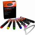 Image Keson Lumber Crayons, Dozen