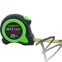 Image Komelon 25ft Self Lock Measuring Tape, 10ths & Inches