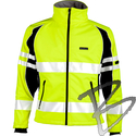 Image ML Kishigo Premium Black Series Unisex Soft Shell Jacket, Lime