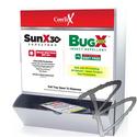 Image CoreTex Combo WallMount Box; Sun X SPF 30+ & Bug X Free Towelettes, 25+25/box