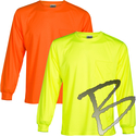 Image ML Kishigo Microfiber Long Sleeve T-Shirt - Economy