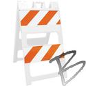 Image Plasticade Type II Barricade, 8