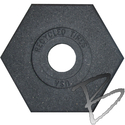 Image Plasticade Delineator Rubber Bases; 8, 10, 12, or 18 lbs