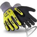 Image HexArmor Helix 1095 Glove, IR-X Impact, Sandy Nitrile Grip