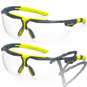 Image Hexarmor Safety Eyewear, VS300 Clear Reader Glasses +1.0/+2.0 - Trushield