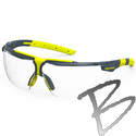 Image Hexarmor Safety Eyewear, VS300, Clear - TruShield®2F