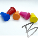 Image Rebar Caps 1/2-inch Rebar and 3/4-inch Pipe