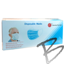 Image Disposable Procedural Mask, 3 Ply, Box of 50