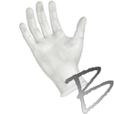 Image Sempermed Synthetic Vinyl Exam Glove Powder Free