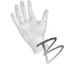 Image Synthetic Vinyl Exam Glove Powder Free