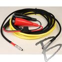 Image Pacific Crest, High Power Base Radio to Trimble, 7pin to 5pin Lemo w/ Allig Clip