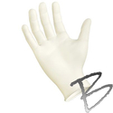 Image Polymed Latex Powder-Free Examination Gloves