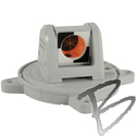 Image SitePro Swiveling Mini Prism 25.4 mm, 360 Degree Rotation, Grey