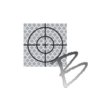 Image SitePro 50mm Reflective Retro Target, Stick-ons (10 Pack)