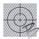 Image SitePro 70mm Reflective Retro Target, Stick-ons (10 Pack)