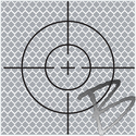 Image SitePro 90mm Reflective Retro Target, Stick-ons (10 Pack)