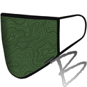 Image BlackStrap Civil Mask, Topo Time Forest
