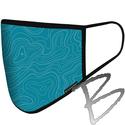 Image BlackStrap Civil Mask, Topo Time Teal
