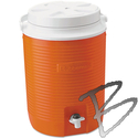 Image Rubbermaid 2 Gallon Victory Thermal Jug Orange